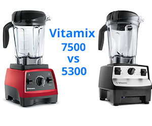 Vitamix 5300 vs 7500