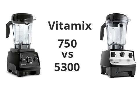 Vitamix 5300 vs 750