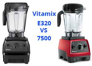 Vitamix E320 VS 7500