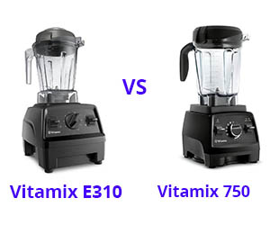 Vitamix E310 vs 750