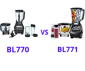 Ninja Mega Kitchen System BL770 vs BL771