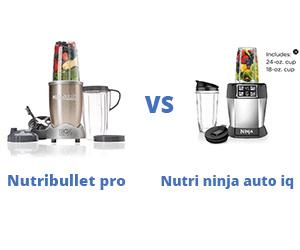 Nutribullet Pro Vs Nutri Ninja Auto iQ